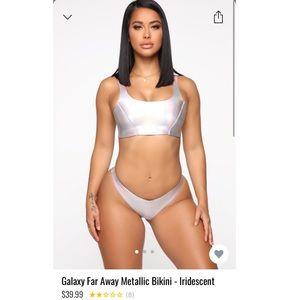 Metallic bikini